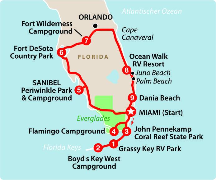 Mapa_praias_e_ilhas_da_Flórida
